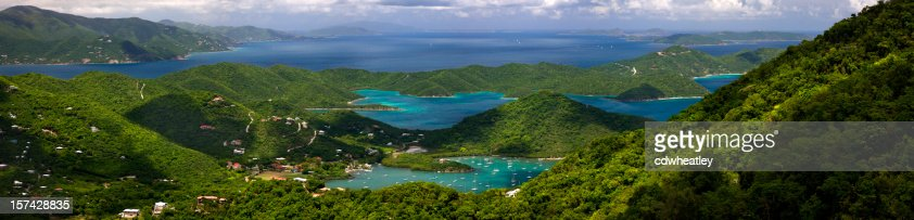 Virgin Islands panorama
