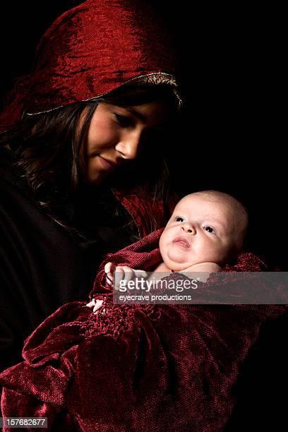 virgin Mary baby Jesus Christ born Christmas