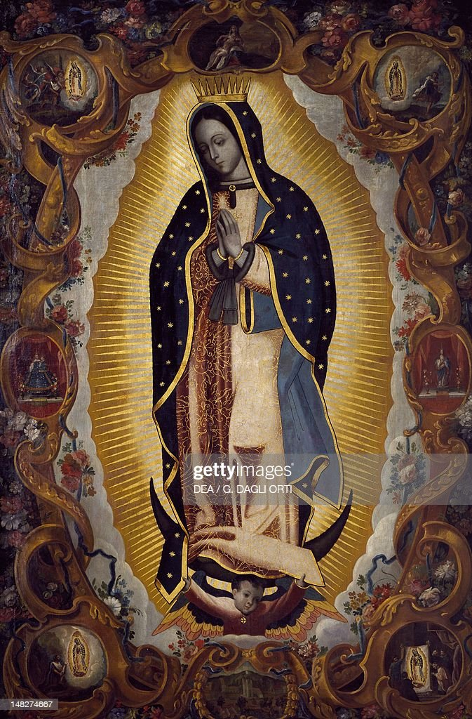 Virgin of Guadalupe late 17thearly 18th century Mexico Mexico City Pinacoteca Virreinal De San Diego