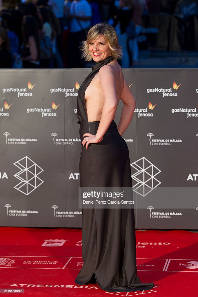 Virgina de Morata attends 'La Ultima Piel' premiere at the Cervantes Teather during the 19th Malaga Film Festival on April 28, 2016 in Malaga, Spain.