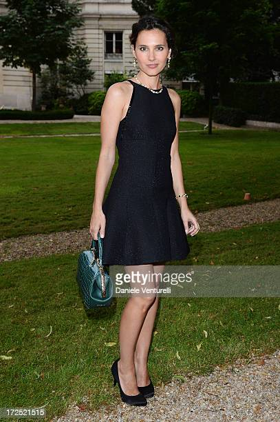 Virgine Ledoyen attends the Bulgari Diva Event at Hotel Potocki on July 2 2013 in Paris France