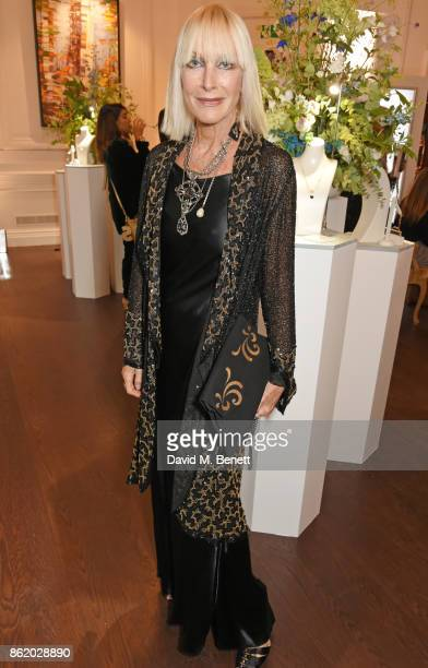 Virginia Bates attends the UK launch of Birks Jewellery at Canada House Trafalgar Square on October 16 2017 in London England
