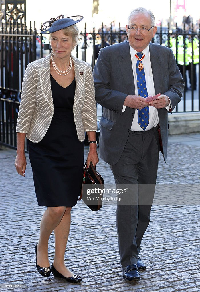 Virginia Bottomley and Peter Bottomley attend a service of celebration to mark the 60th anniversary of the Coronation of Queen Elizabeth II at Westminster Abbey on June 4, 2013 in London, England. The Queen's Coronation took place on June 2, 1953 after a period of mourning for her father King George VI, following her ascension to the throne on February 6, 1952. The event 60 years ago was the first time a coronation was televised for the public.