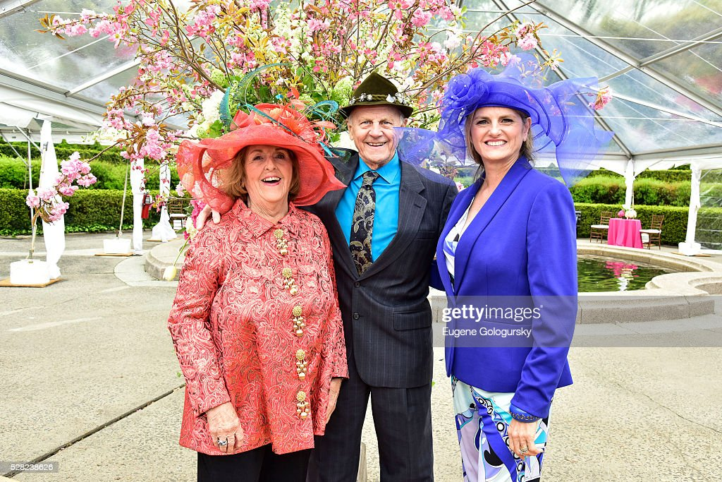 Virginia Comley, James F. Comley and Bonnie Comley attend the 34th Annual Frederick Law Olmsted Awards Luncheon on May 4, 2016 in New York City.