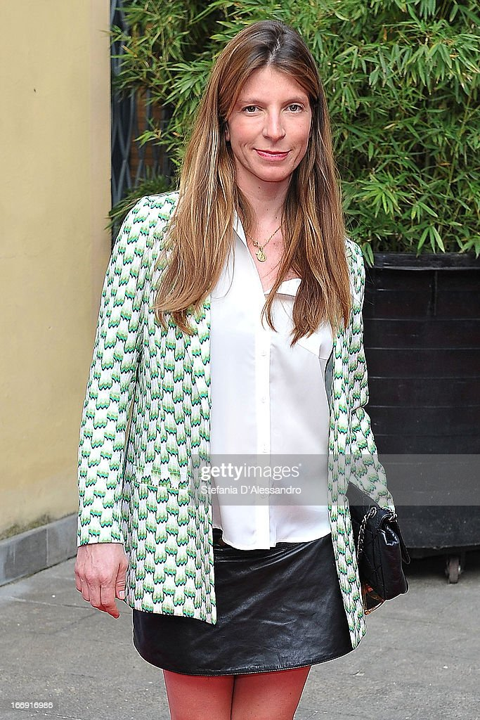 Virginia Galateri di Genola attends Vanity Fair & Smash Box at Spazio Krizia on April 18, 2013 in Milan, Italy.
