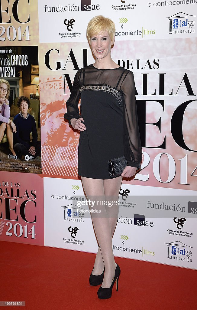 Virginia Garcia attends the 'CEC' medals 2014 ceremony at the Palafox cinema on February 3, 2014 in Madrid, Spain.
