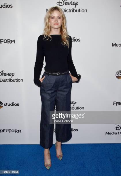 Virginia Gardner attends the 2017 ABC/Disney Media Distribution International Upfronts at Walt Disney Studio Lot on May 21 2017 in Burbank California