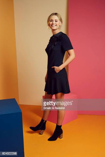 Virginia Gardner of Hulu's 'Marvel's Runaways' poses for a portrait during the 2017 Summer Television Critics Association Press Tour at The Beverly...