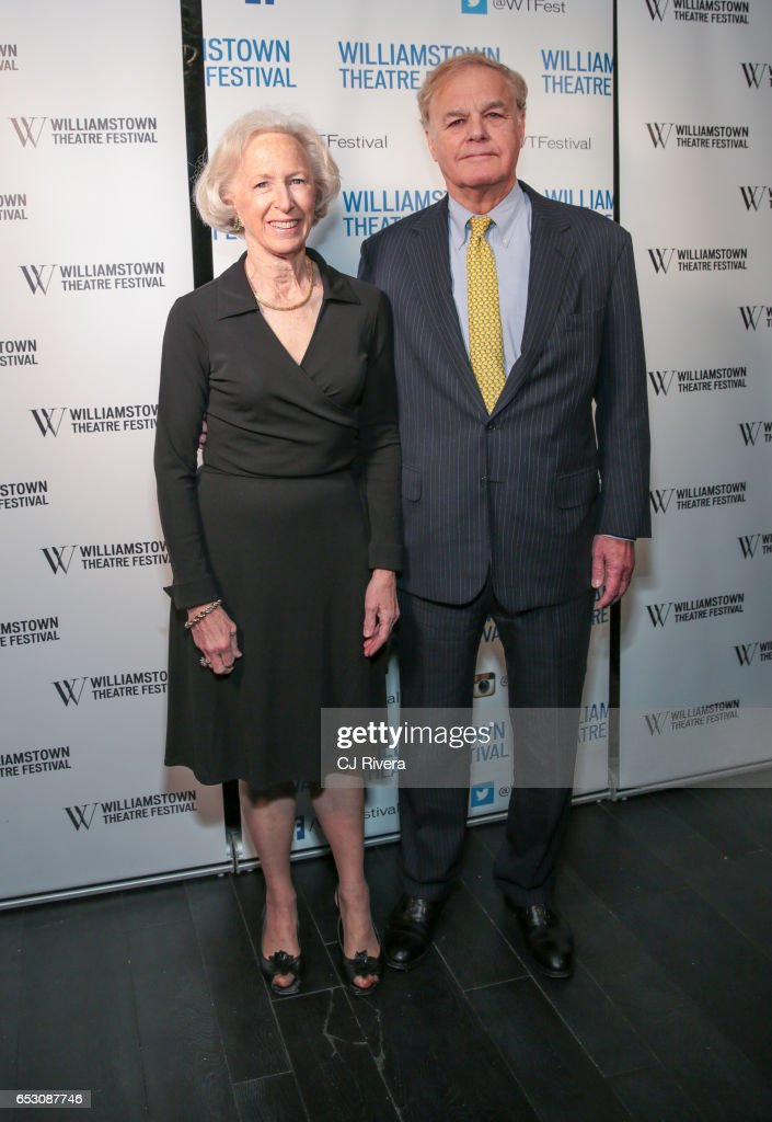 Virginia Giddens and James Giddens attend 2017 Williamstown Theatre Festival Gala at TAO Downtown on March 13, 2017 in New York City.