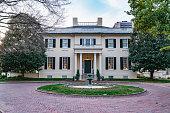Virginia governor's mansion near the capitol in Richmond, Virginia.