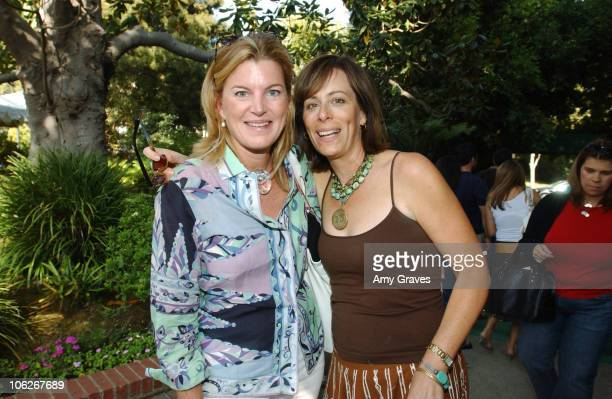 Virginia Healey of W Magazine and Jane Kaczmarek during W Magazine with Clothes Off Our Back Hollywood Yard Sale Inside at Private Residence in...