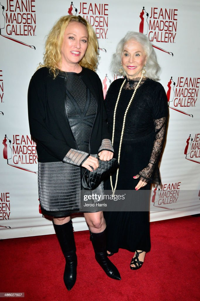 <a gi-track='captionPersonalityLinkClicked' href=/galleries/search?phrase=Virginia+Madsen&family=editorial&specificpeople=202232 ng-click='$event.stopPropagation()'>Virginia Madsen</a> and <a gi-track='captionPersonalityLinkClicked' href=/galleries/search?phrase=Elaine+Madsen&family=editorial&specificpeople=2297334 ng-click='$event.stopPropagation()'>Elaine Madsen</a> attend 'Women Empowering Women' benefiting the Aparecio Foundation at Jeanie Madsen Gallery on April 21, 2014 in Santa Monica, California.