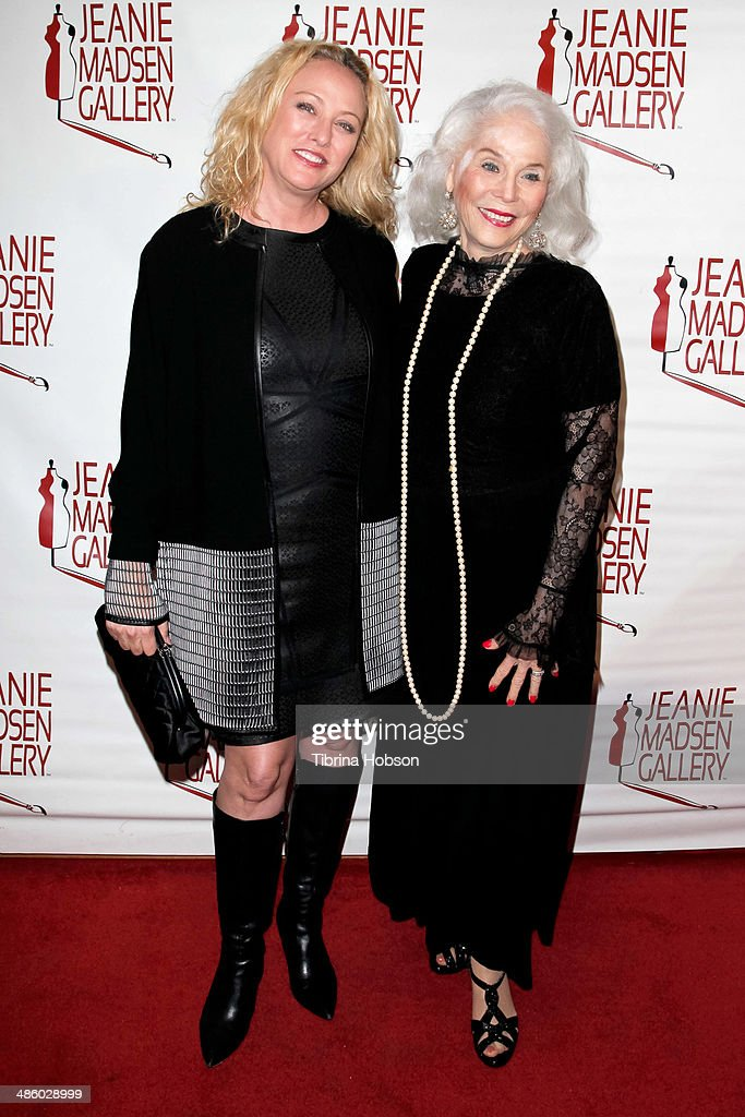 <a gi-track='captionPersonalityLinkClicked' href=/galleries/search?phrase=Virginia+Madsen&family=editorial&specificpeople=202232 ng-click='$event.stopPropagation()'>Virginia Madsen</a> and her mother <a gi-track='captionPersonalityLinkClicked' href=/galleries/search?phrase=Elaine+Madsen&family=editorial&specificpeople=2297334 ng-click='$event.stopPropagation()'>Elaine Madsen</a> attend the Aparecio Foundation event for 'Women Empowering Women' hosted by Michael & <a gi-track='captionPersonalityLinkClicked' href=/galleries/search?phrase=Virginia+Madsen&family=editorial&specificpeople=202232 ng-click='$event.stopPropagation()'>Virginia Madsen</a> at Jeanie Madsen Gallery on April 21, 2014 in Santa Monica, California.