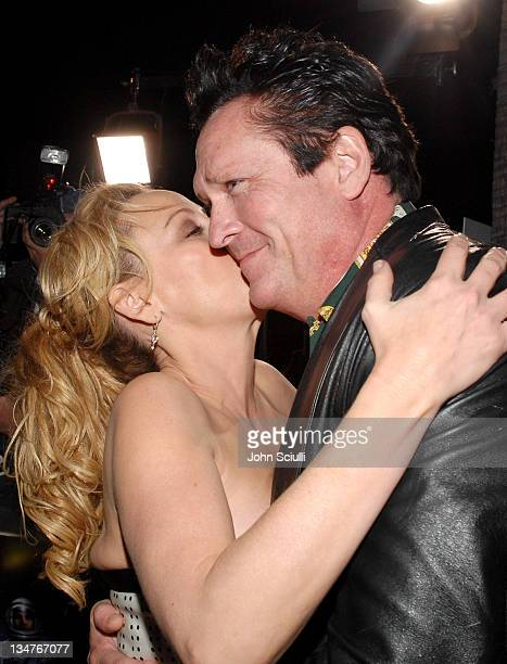 Virginia Madsen and Michael Madsen during 'The Astronaut Farmer' Los Angeles Premiere Red Carpet at Cinerama Dome in Hollywood California United...