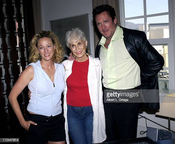 Virginia Madsen and Michael Madsen with mom Elaine