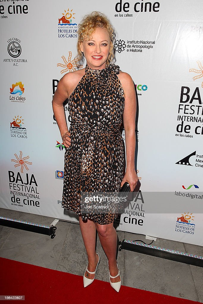 Virginia Madsen arrives at the Inaugural Ceremony at Los Cabos Convention Center on November 14, 2012 in Cabo San Lucas, Mexico.