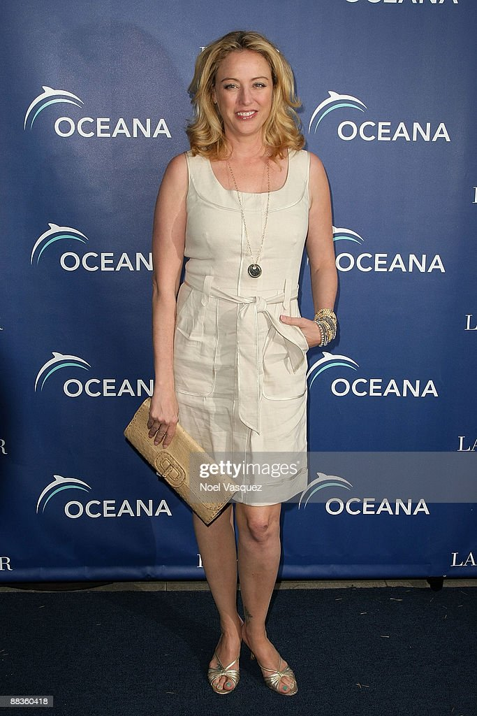 Virginia Madsen attends Oceana's celebration of World Oceans Day with La Mer at a private residence on June 8 2009 in Los Angeles California
