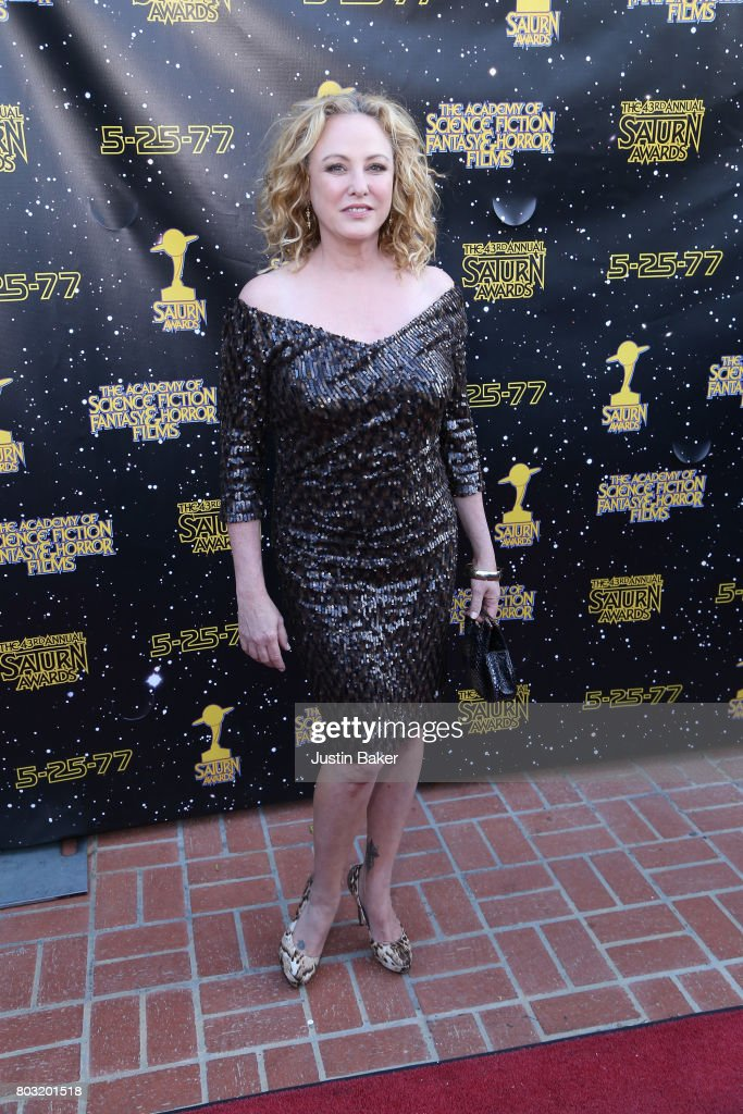 Virginia Madsen attends the 43rd Annual Saturn Awards at The Castaway on June 28, 2017 in Burbank, California.