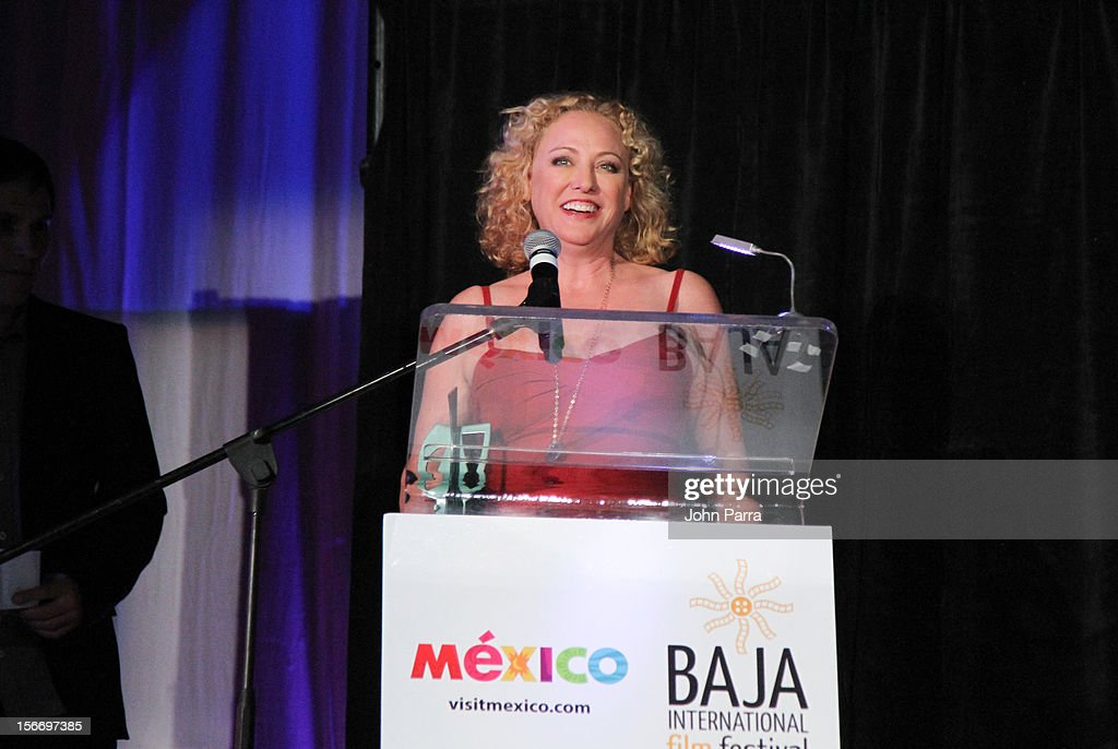 Virginia Madsen attends the Closing Night Gala during the Baja International Film Festival at Los Cabos Convention Center on November 17, 2012 in Cabo San Lucas, Mexico.