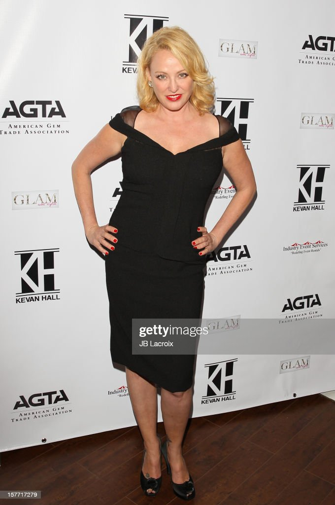 Virginia Madsen attends the Kevan Hall Presents His Spring 2013 Collection on December 5, 2012 in Los Angeles, California.