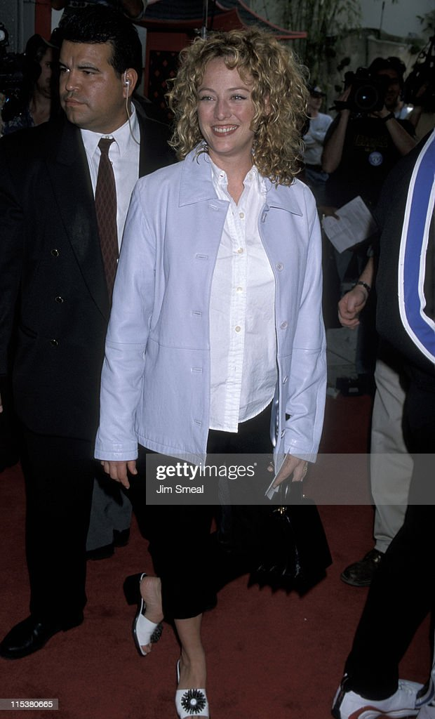 <a gi-track='captionPersonalityLinkClicked' href=/galleries/search?phrase=Virginia+Madsen&family=editorial&specificpeople=202232 ng-click='$event.stopPropagation()'>Virginia Madsen</a> during 'Quest for Camelot' Premiere at Mann Chinese Theatre in Hollywood, California, United States.