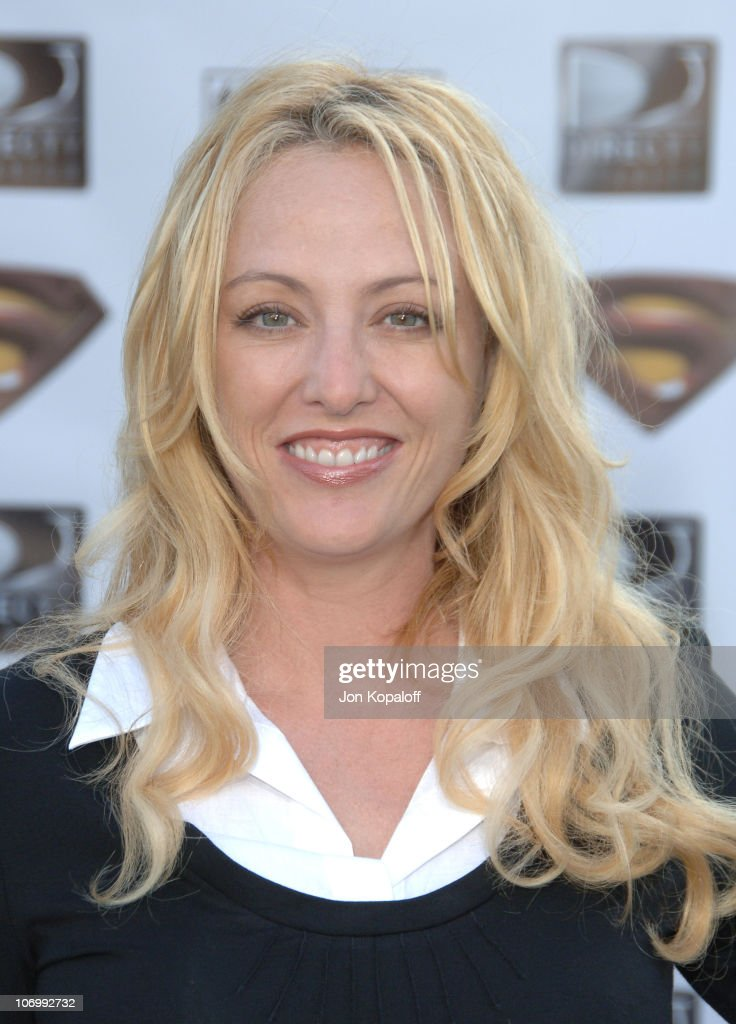 Virginia Madsen during 'Superman Returns' Los Angeles Premiere - Arrivals at Mann Village and Bruin Theaters in Westwood, California, United States.