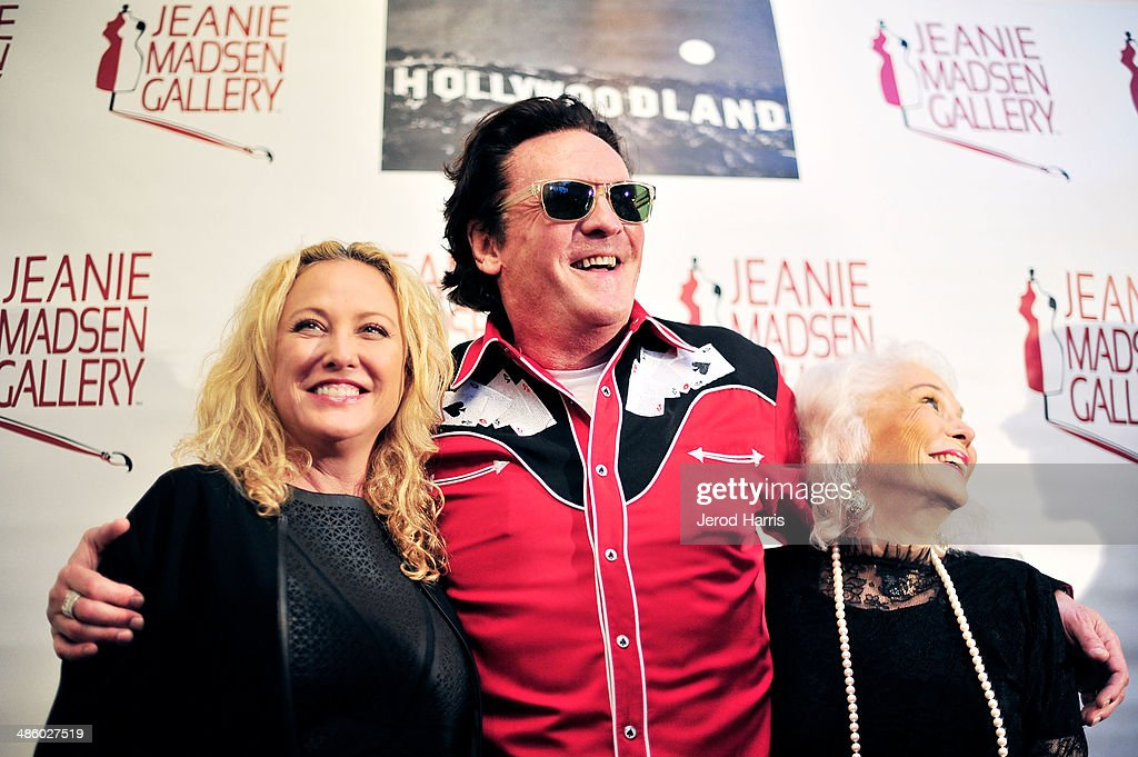 <a gi-track='captionPersonalityLinkClicked' href=/galleries/search?phrase=Virginia+Madsen&family=editorial&specificpeople=202232 ng-click='$event.stopPropagation()'>Virginia Madsen</a>, <a gi-track='captionPersonalityLinkClicked' href=/galleries/search?phrase=Michael+Madsen&family=editorial&specificpeople=171692 ng-click='$event.stopPropagation()'>Michael Madsen</a> and <a gi-track='captionPersonalityLinkClicked' href=/galleries/search?phrase=Elaine+Madsen&family=editorial&specificpeople=2297334 ng-click='$event.stopPropagation()'>Elaine Madsen</a> attend 'Women Empowering Women' benefiting the Aparecio Foundation at Jeanie Madsen Gallery on April 21, 2014 in Santa Monica, California.
