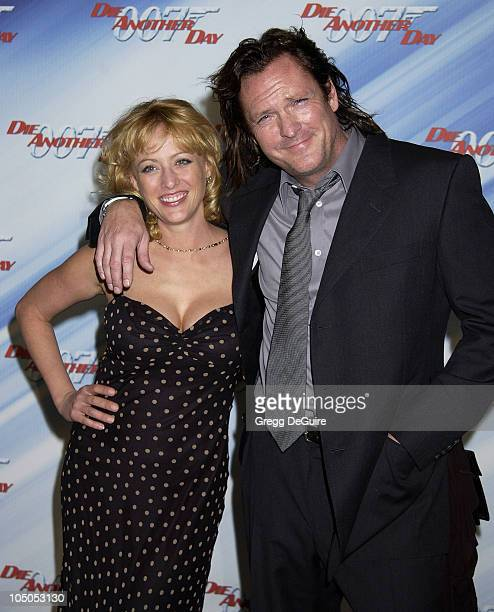 Virginia Madsen Michael Madsen during 'Die Another Day' Los Angeles Premiere at Shrine Auditorium in Los Angeles California United States
