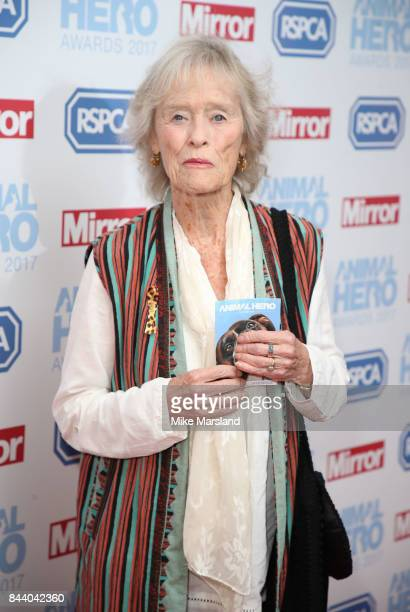 Virginia McKenna attends the Animal Hero Awards 2017 at The Grosvenor House Hotel on September 7 2017 in London England
