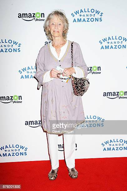Virginia McKenna attends the gala screening for 'Swallows and Amazons' at Picturehouse Central on July 23 2016 in London England