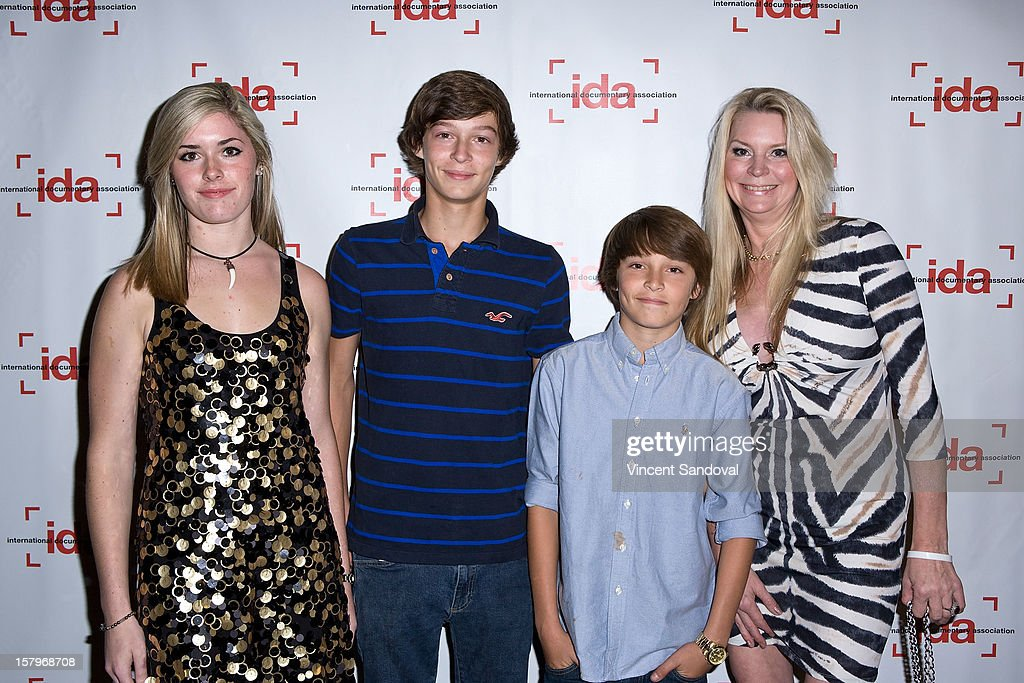 Virginia Nebab and family attends the 2012 IDA Documentary Awards at Directors Guild Of America on December 7, 2012 in Los Angeles, California.