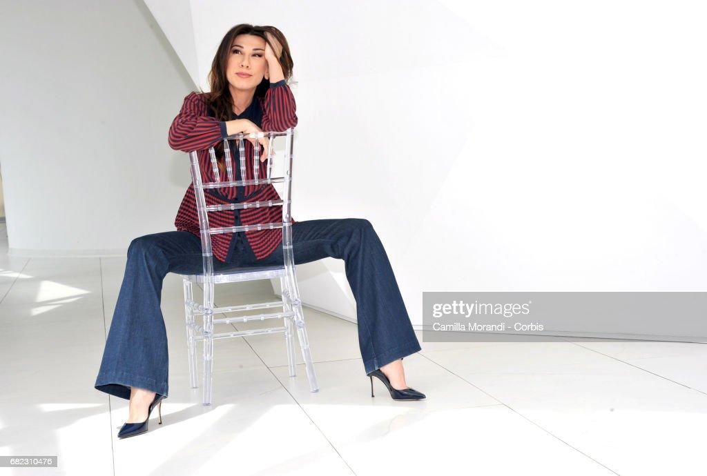 Virginia Raffaele attends 'Facciamo Che Ero Io' Photocall In Rome on May 12, 2017 in Rome, Italy.