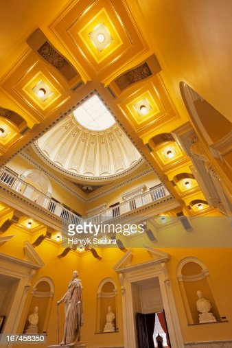 USA, Virginia, Richmond, Interior of State Capitol Building : Stock Photo