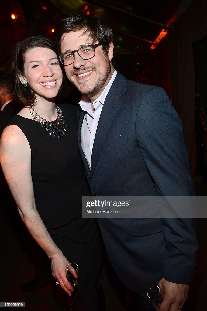 Virginia Sommer and <a gi-track='captionPersonalityLinkClicked' href=/galleries/search?phrase=Rich+Sommer&family=editorial&specificpeople=4406963 ng-click='$event.stopPropagation()'>Rich Sommer</a> attend the Audi Golden Globes Kick Off 2013 at Cecconi's Restaurant on January 6, 2013 in Los Angeles, California.
