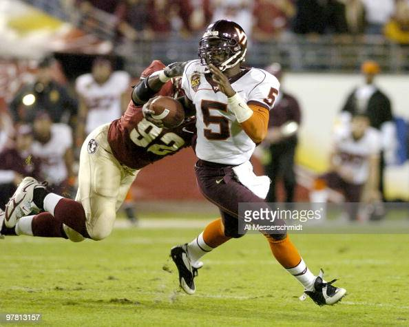 Marcus Vick Stock Photos And Pictures Getty Images