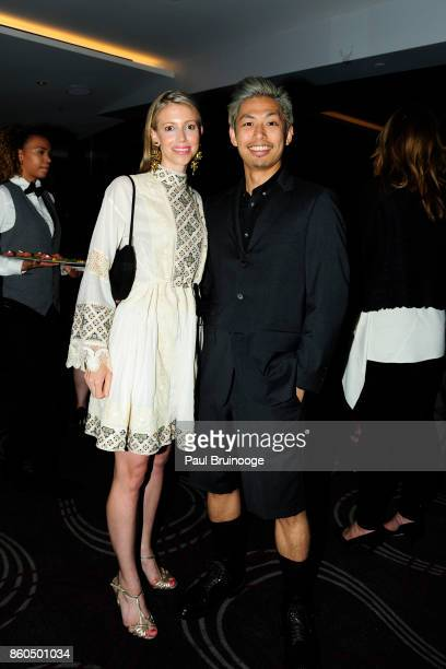 Virginia Tupker and Nori Inoguchi attend the Decoration and Design Building celebrates the 2017 winners of the DDB's 10th Anniversary of Stars of...