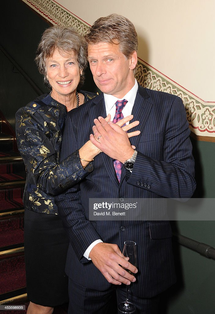 Virginia Wade and Andrew Castle attends Best Beginnings at the grand opening of The Statoil Masters Tennis at Royal Albert Hall on December 4 2013 in...