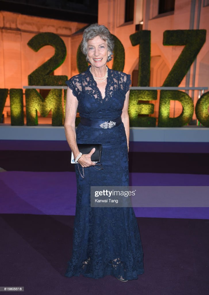 Virginia Wade attends the Wimbledon Winners Dinner at The Guildhall on July 16, 2017 in London, England.