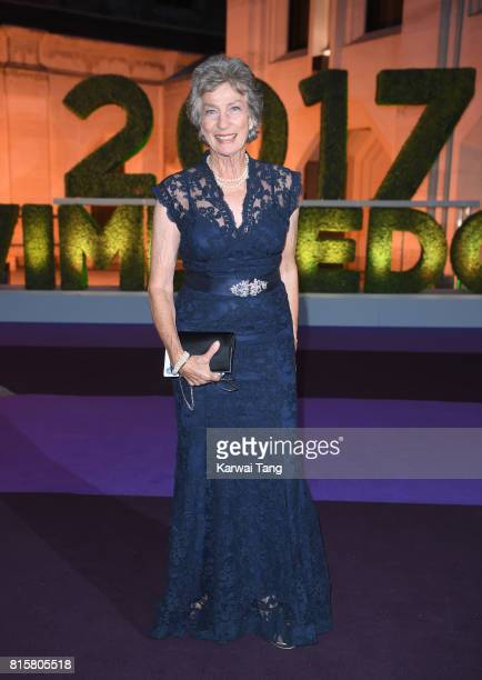 Virginia Wade attends the Wimbledon Winners Dinner at The Guildhall on July 16 2017 in London England