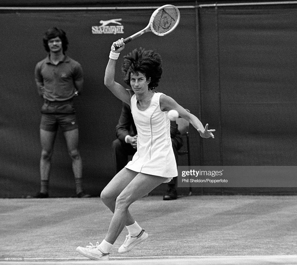 Wimbledon La s Semi Final Virginia Wade v Chris Evert