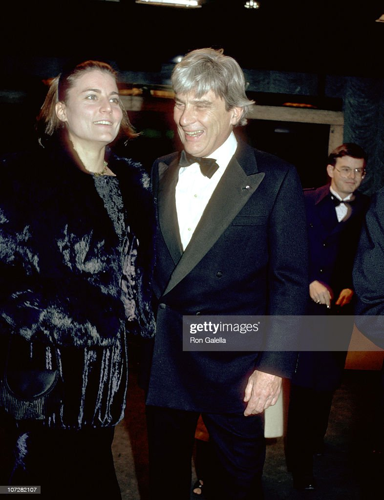 Virginia Warner and John Warner during Virginia Warner and John Warner leaving Frank Sinatra's Party - Washington DC - Janurary 19, 1985 at Madison Hotel in Washington, DC, United States.