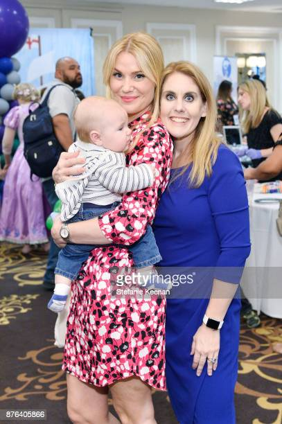 Virginia Williams and Courtney Faith Vera attend Diono Presents Inaugural A Day of Thanks and Giving Event at The Beverly Hilton Hotel on November 19...
