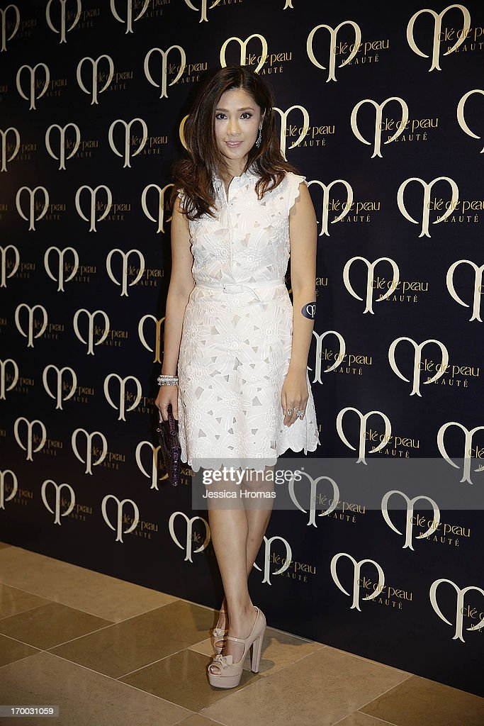 Virginia Wu attends the Shiseido 'Cle De Peau Beaute' gala dinner at ArtisTree on June 6, 2013 in Hong Kong, Hong Kong.