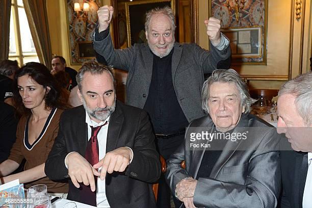 Virginie Bapt Antoine Dulery Jacky Berroyer Jean Pierre Mocky and Yann Quefellec attend the 'Journee Du Livre Et Du Vin' 2014 Jury Press Conference...