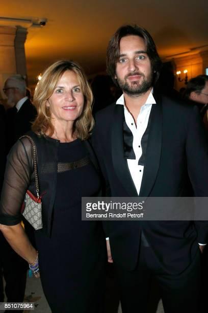 Virginie CouperieEiffel and Dimitri Rassam attend the Opening Season Gala Ballet of Opera National de Paris Held at Opera Garnier on September 21...