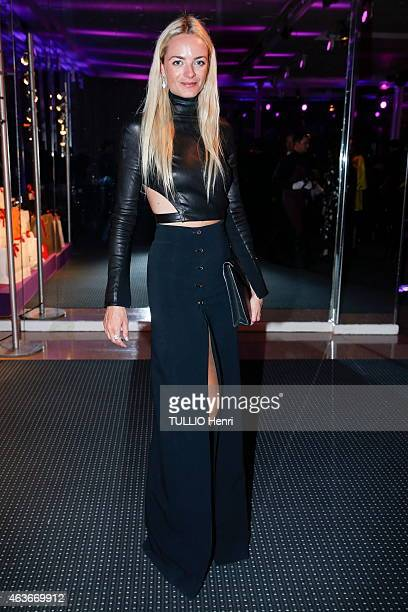 Virginie CourtinClarins attends the evening gala for the Sidaction 2015 on January 29 2015 in Paris France