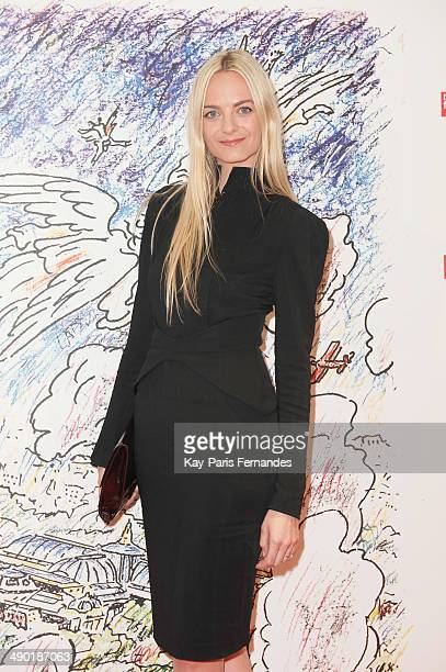 Virginie CourtinClarins attends the official opening party of the Ilya And Emilia Kabakov Artwork Monumenta 2014 at the Grand Palais on May 13 2014...