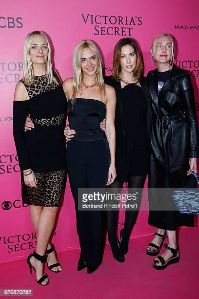 Virginie CourtinClarins her sister Claire CourtinClarins their cousin Prisca CourtinClarins and her sister Jenna CourtinClarins attend the 2016...