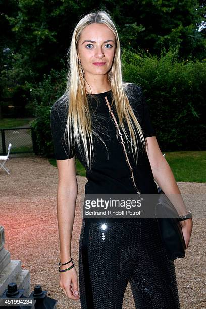 Virginie Cpourtin Clarins attends the 'Chambre Syndicale de la Haute Couture' Cocktail to celebrate the end of the Paris Fashion Week Held at Hotel...