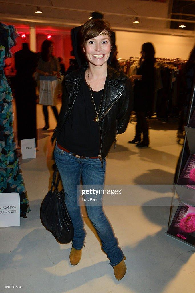 Virginie de Clausade attends 'La Braderie de L' Eclaireur 2012' in Benefit of Rose Association Against Cancer at Galerie Diana Marquardt on November 19, 2012 in Paris, France.